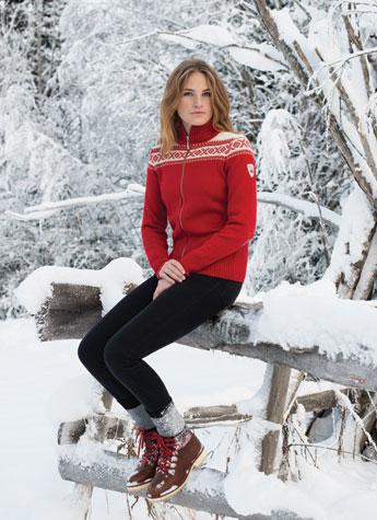 Womens Zip Sweater